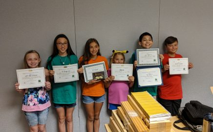 4-H Forager Beekeepers received awards.