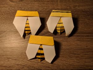 Honey Bee Origami Seed Packets